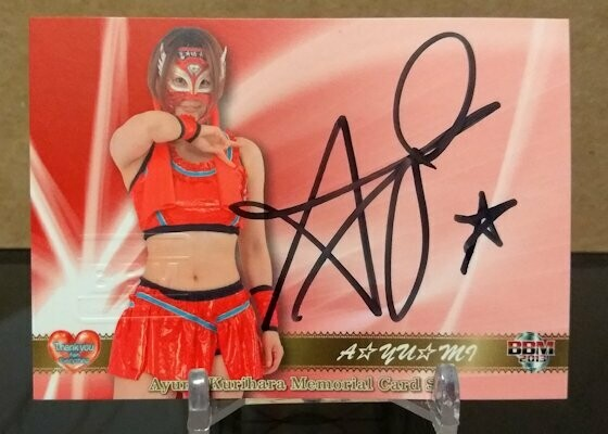 AYUMI (Ayumi Kurihara) Memorial Card Set Autograph /300