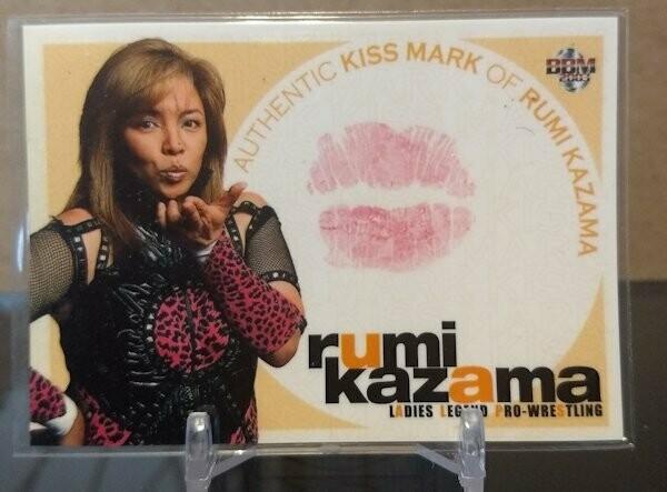 Rumi Kazama 2003 BBM Joshi True Heart Kiss Card /350