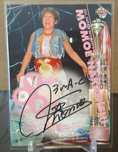 Momoe Nakanishi 2003 BBM Joshi True Heart Autograph /100