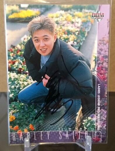 Harley Saito 2003 BBM Joshi True Heart Autograph /120