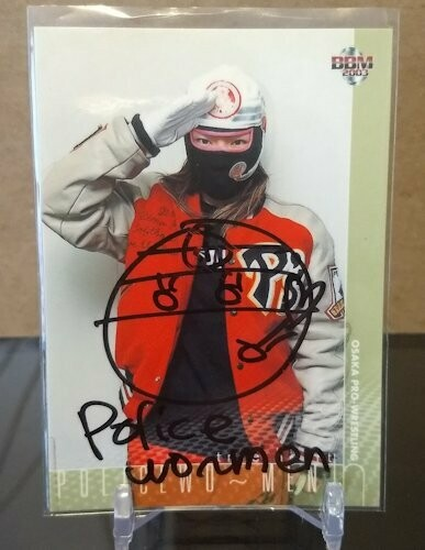 Policemo~men 2003 BBM Joshi True Heart Autograph /118