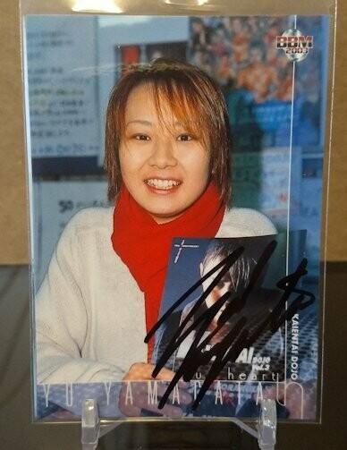 Yu Yamagata 2003 BBM Joshi True Heart Autograph /117