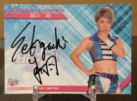 Kakeru Sekiguchi 2020 BBM Joshi True Heart Autograph /95