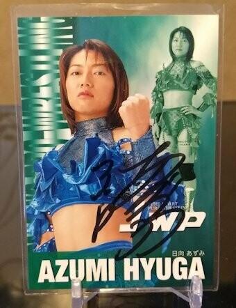 Azumi Hyuga 2001 Future Bee Autograph
