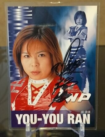 You-You Ran 2001 Future Bee Autograph