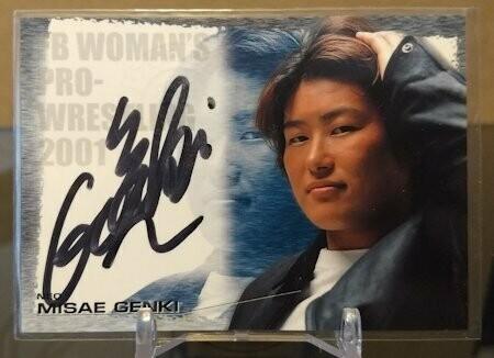 Misae Genki 2001 Future Bee Autograph