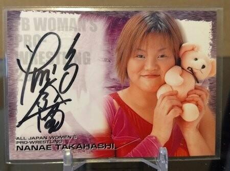 Nanae Takahashi 2001 Future Bee Autograph