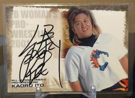 Kaoru Ito 2001 Future Bee Autograph