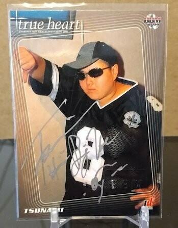 Tsunami 2004 BBM Joshi True Heart Autograph /62