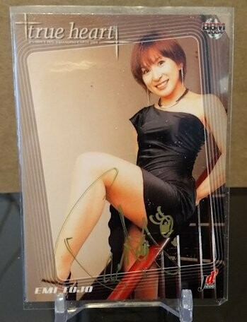 Emi Tojo 2004 BBM Joshi True Heart Autograph /78