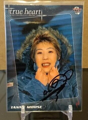 Tanny Mouse 2004 BBM Joshi True Heart Autograph /80