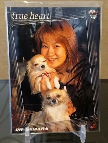 Rie Tamada 2004 BBM Joshi True Heart Autograph /79