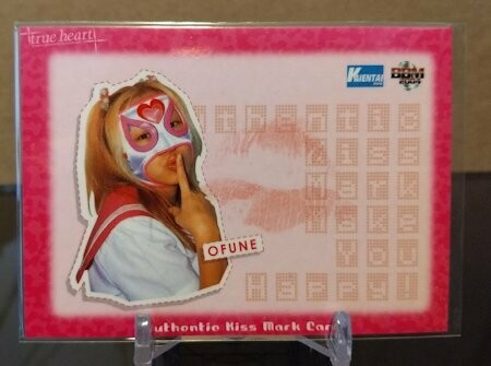 Ofune 2004 BBM Joshi True Heart Kiss Card /320