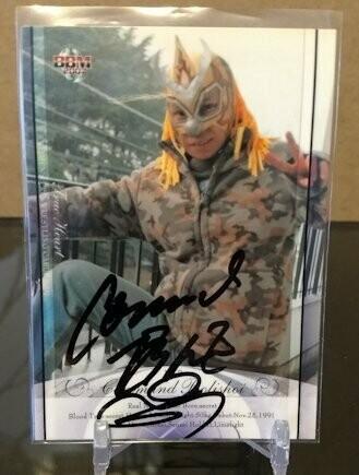 Command Bolshoi 2007 BBM Joshi True Heart Autograph /100