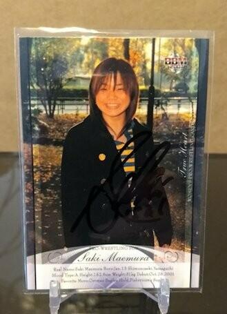 Saki Maemura 2007 BBM Joshi True Heart Autograph /64
