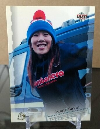 Sumie Sakai 2005 BBM Joshi True Heart Base Card