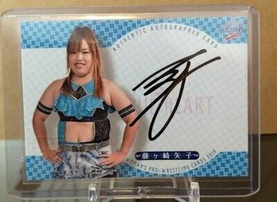 Yako Fujigasaki 2019 BBM Joshi True Heart Autograph /99