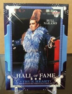 Bull Nakano 2011 BBM Joshi True Heart Base Card