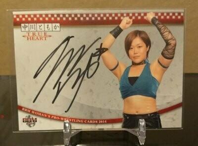 Tomoka Nakagawa 2014 BBM Joshi True Heart Autograph /90