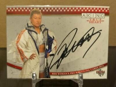 AKINO 2014 BBM Joshi True Heart Autograph /90