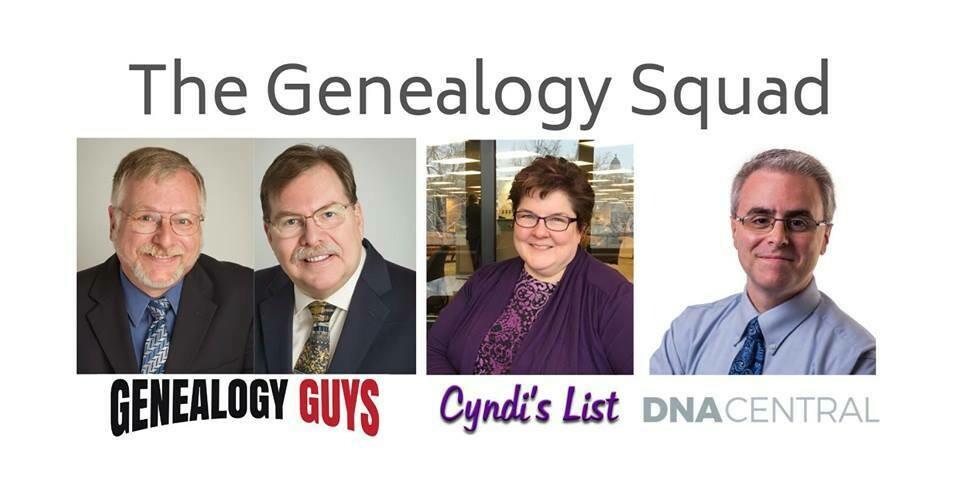 Wednesday - Meet the Genealogy Squad