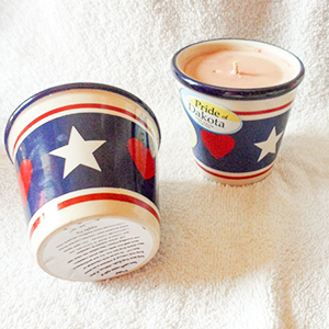2.5 oz Soy Candle Americana Crock Container