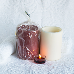 3X4 Soy Pillar Candle