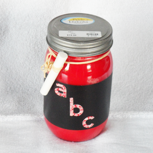 14 oz Soy Candle Mason Teacher Container