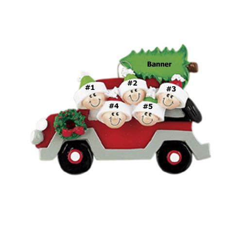 Christmas Caravan Family of 5