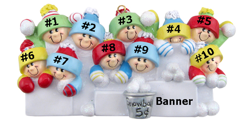 Snowball Family of 10