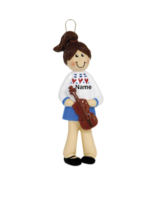 Girl Violin Player