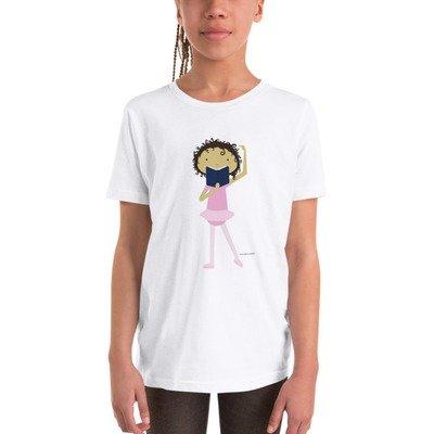 Lena Likes Lizards (Youth Short Sleeve T-Shirt)