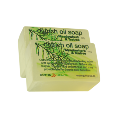 Ostrich Oil Soap Herbal