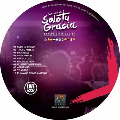 Solo Tu Gracia DVD