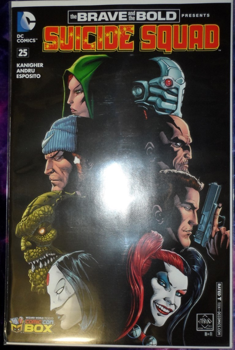 The Brave & the Bold #25 - Comic Con Box Variant