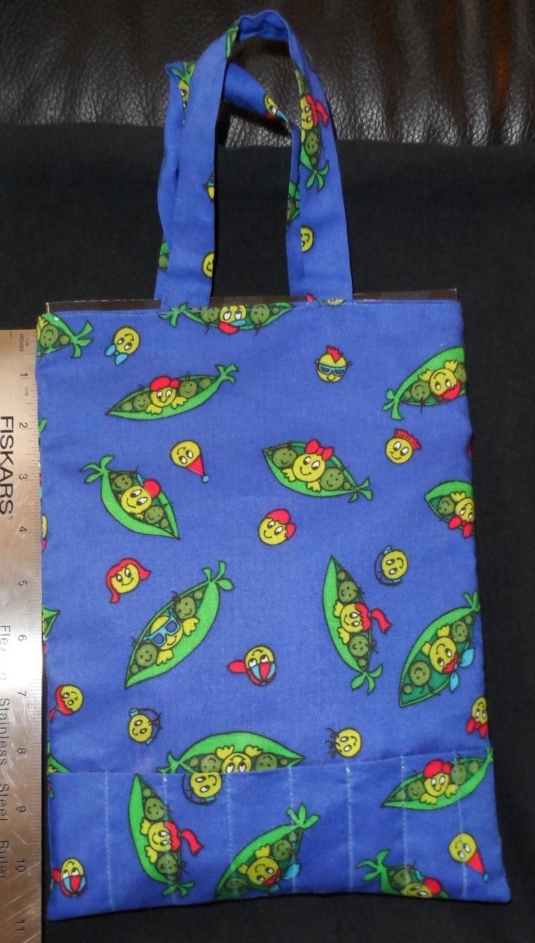 Handmade Color Book Tote - Peas In A Pod