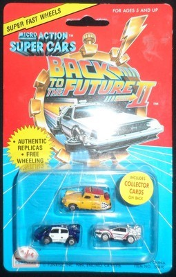 Back to the Future II Micro Action Super Cars!