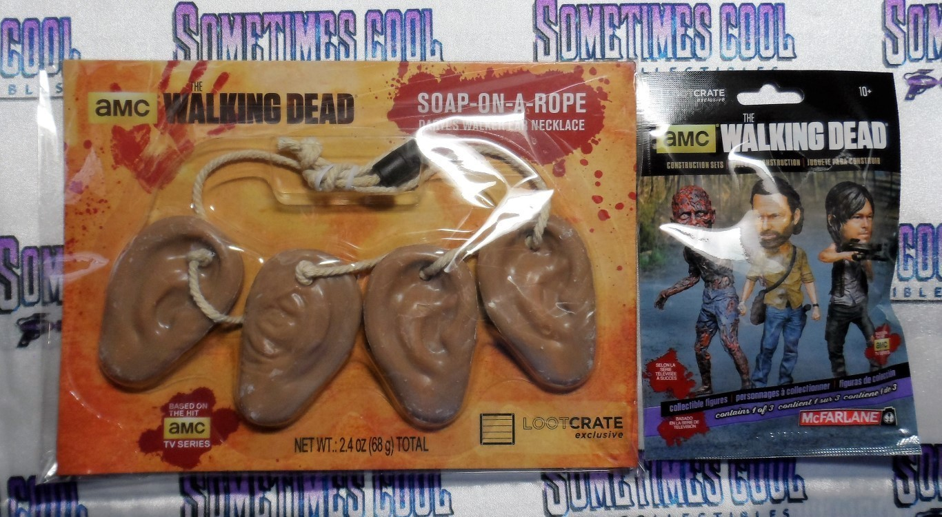 Walking Dead Soap-On-A-Rope and Construct A Figure
