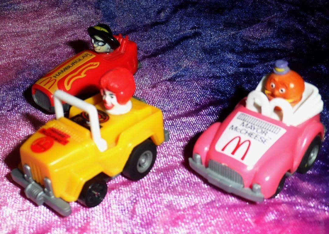 McDonald's Pullback Mini Racers