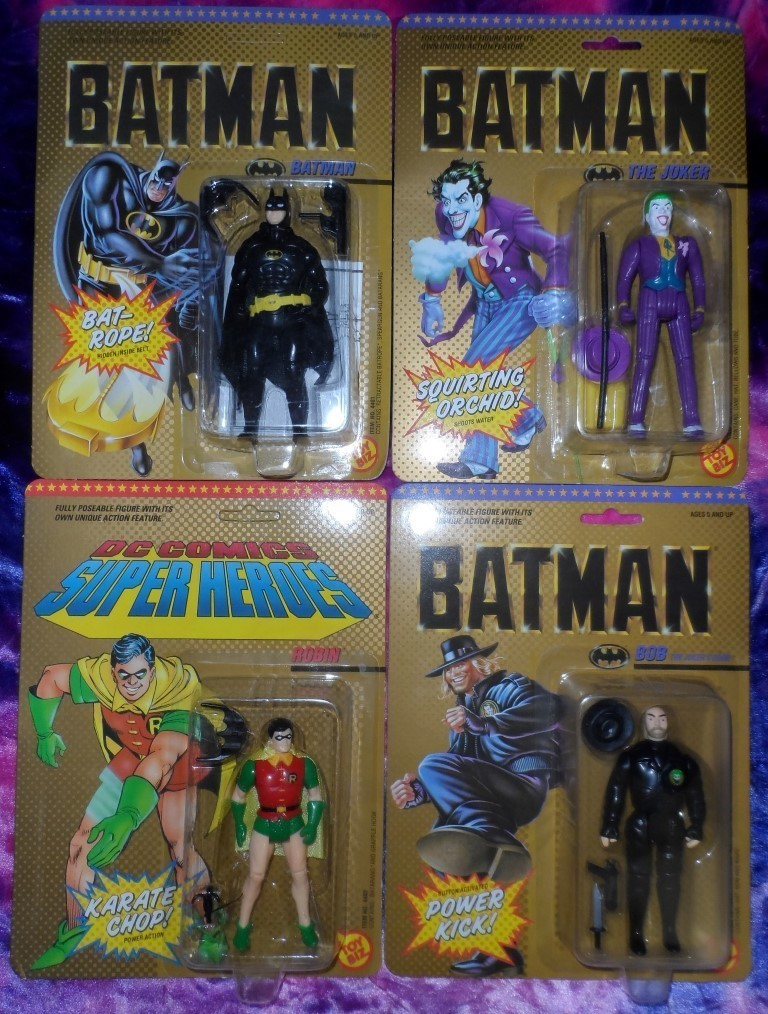 BATMAN Action Figures (Set of 4)