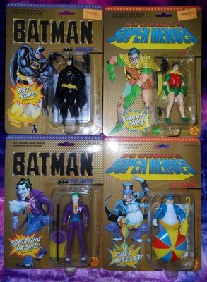 BATMAN Action Figures (Set of 4)