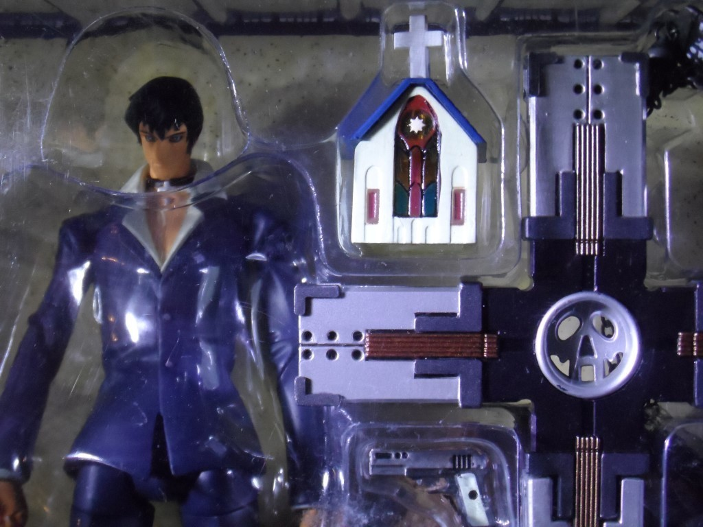 Trigun :The Planet Gunsmoke - Nicholas D. Wolfwood Action Figure