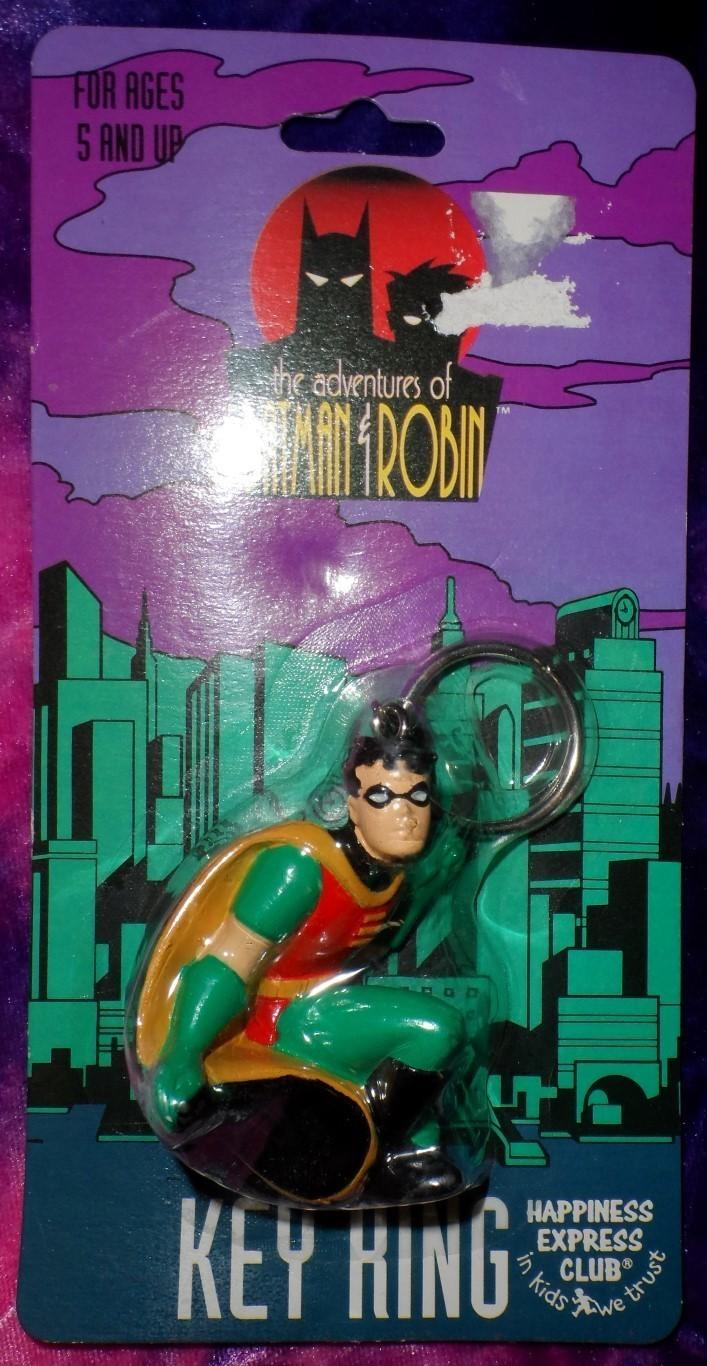 the Adventures of Batman & Robin: Robin Keychain