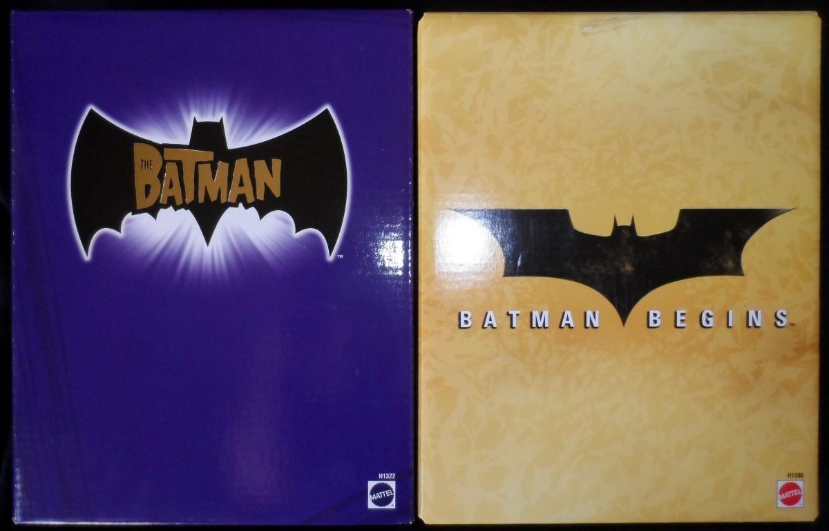 The Batman -Catwoman & Batman Begins -Batman Prototype SuitFigures