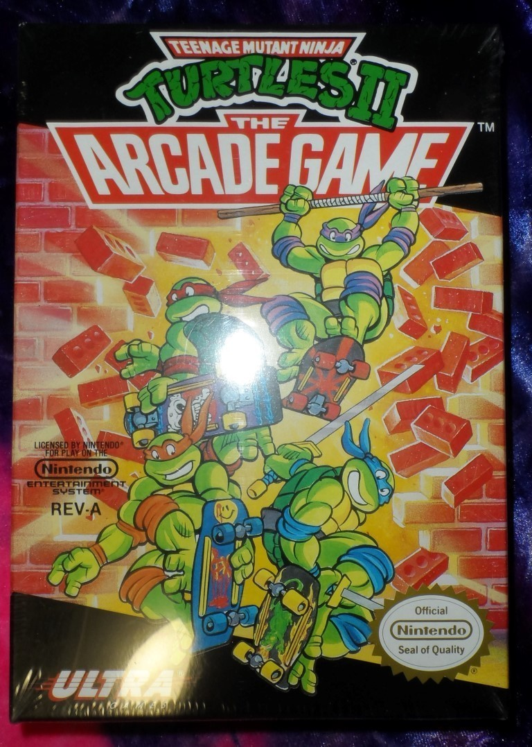 Teenage Mutant Ninja Turtles II : The Arcade Game (NES edition)
