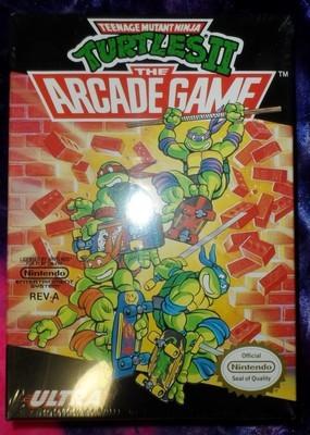Teenage Mutant Ninja Turtles II : The Arcade Game (NES edition)