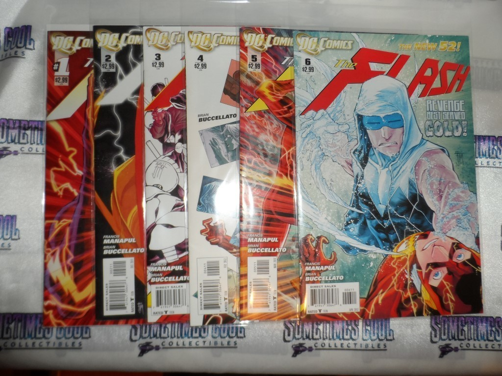 The Flash (New 52) Comic Set of 6