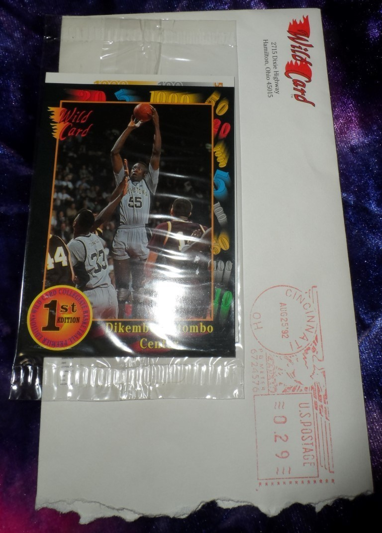 1992 Wild Card College Basketball Trading Cards