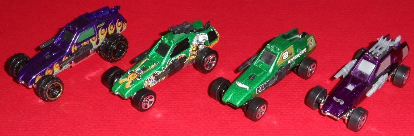 Hot Wheels Enforcer Set 2