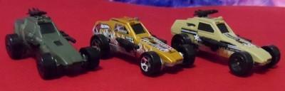 Hot Wheels Enforcer Set 3